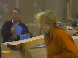 Harold Bishop, Sharon Davies in Neighbours Episode 0848