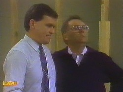 Des Clarke, Harold Bishop in Neighbours Episode 0848