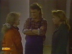 Sharon Davies, Henry Ramsay, Bronwyn Davies in Neighbours Episode 0849