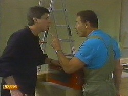 Joe Mangel, Malcolm Clarke in Neighbours Episode 0849
