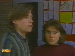 Mike Young, Jessie Ross in Neighbours Episode 0849