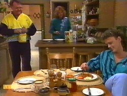 Harold Bishop, Madge Bishop, Henry Ramsay in Neighbours Episode 0851