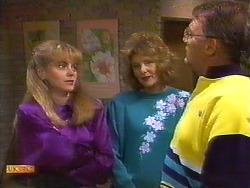 Jane Harris, Madge Bishop, Harold Bishop in Neighbours Episode 0851