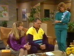 Jane Harris, Harold Bishop, Madge Bishop in Neighbours Episode 0851