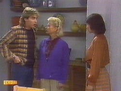 Nick Page, Helen Daniels, Beverly Marshall in Neighbours Episode 0852