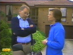 Harold Bishop, Mike Young in Neighbours Episode 0852
