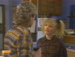 Nick Page, Sharon Davies in Neighbours Episode 0853