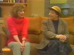 Madge Bishop, Edith Chubb in Neighbours Episode 0857