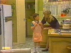 Toby Mangel, Jane Harris in Neighbours Episode 0857