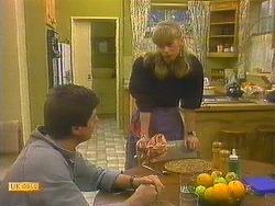 Joe Mangel, Jane Harris in Neighbours Episode 0857