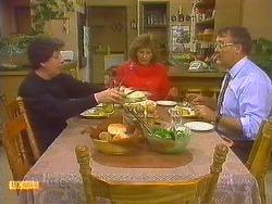 Edith Chubb, Madge Bishop, Harold Bishop in Neighbours Episode 0857