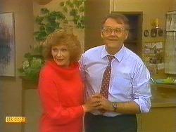 Madge Bishop, Harold Bishop in Neighbours Episode 0857