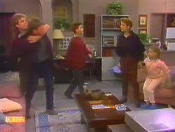 Nick Page, Skinner, Todd Landers, Gail Robinson, Katie Landers in Neighbours Episode 0858