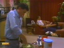 Des Clarke, Malcolm Clarke, Leanne in Neighbours Episode 0858