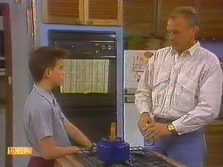Todd Landers, Jim Robinson in Neighbours Episode 0858