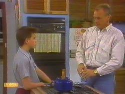 Todd Landers, Jim Robinson in Neighbours Episode 0858