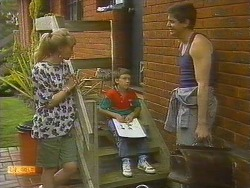 Jane Harris, Toby Mangel, Joe Mangel in Neighbours Episode 0859