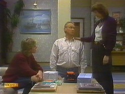 Nick Page, Jim Robinson, Beverly Marshall in Neighbours Episode 0860