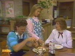 Henry Ramsay, Bronwyn Davies, Madge Bishop in Neighbours Episode 0860