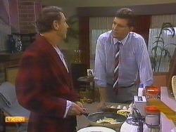 Malcolm Clarke, Des Clarke in Neighbours Episode 0860