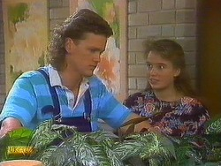 Henry Ramsay, Bronwyn Davies in Neighbours Episode 0861