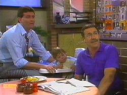Des Clarke, Jamie Clarke, Malcolm Clarke in Neighbours Episode 0861