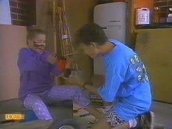 Katie Landers, Todd Landers in Neighbours Episode 0861