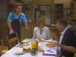 Henry Ramsay, Madge Bishop, Harold Bishop in Neighbours Episode 0861