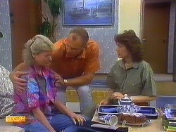 Helen Daniels, Jim Robinson, Beverly Marshall in Neighbours Episode 0878