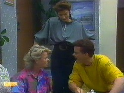 Helen Daniels, Gail Robinson, Paul Robinson in Neighbours Episode 0879