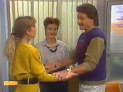 Jane Harris, Gail Robinson, Mark Granger in Neighbours Episode 0879