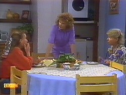Bronwyn Davies, Madge Bishop, Helen Daniels in Neighbours Episode 0879