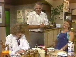 Madge Bishop, Harold Bishop, Henry Ramsay in Neighbours Episode 0882