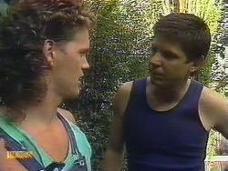Henry Ramsay, Joe Mangel in Neighbours Episode 0882