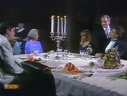 Joe Mangel, Mrs. Granger, Jane Harris, Mark Granger in Neighbours Episode 0882