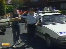 Joe Mangel, Police Officer in Neighbours Episode 0883