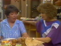 Edith Chubb, Madge Bishop in Neighbours Episode 0884
