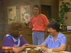 Madge Bishop, Henry Ramsay, Edith Chubb in Neighbours Episode 0884
