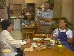 Edith Chubb, Madge Bishop, Harold Bishop, Henry Ramsay in Neighbours Episode 0884