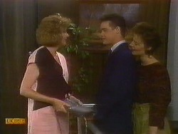 Madge Bishop, Paul Robinson, Gail Robinson in Neighbours Episode 0884