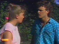 Bronwyn Davies, Henry Ramsay in Neighbours Episode 0886