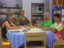 Nick Page, Jim Robinson, Helen Daniels, Todd Landers in Neighbours Episode 0886