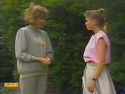 Madge Bishop, Bronwyn Davies in Neighbours Episode 0886
