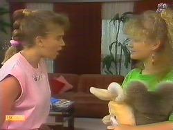 Bronwyn Davies, Sharon Davies in Neighbours Episode 0886