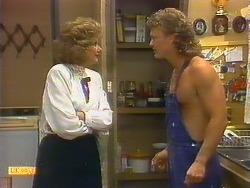 Madge Bishop, Henry Ramsay in Neighbours Episode 0886