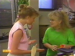 Bronwyn Davies, Sharon Davies in Neighbours Episode 0887