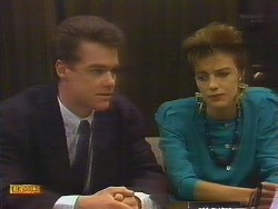 Paul Robinson, Gail Robinson in Neighbours Episode 0887