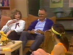 Madge Bishop, Harold Bishop, Kerry Bishop in Neighbours Episode 0889