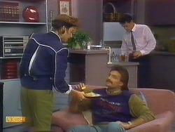 Gail Robinson, Mark Granger, Paul Robinson in Neighbours Episode 0889