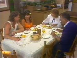 Henry Ramsay, Kerry Bishop, Madge Bishop, Harold Bishop in Neighbours Episode 0889